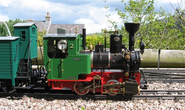 Hillhead & Dales Light Railway: Bank Holiday running