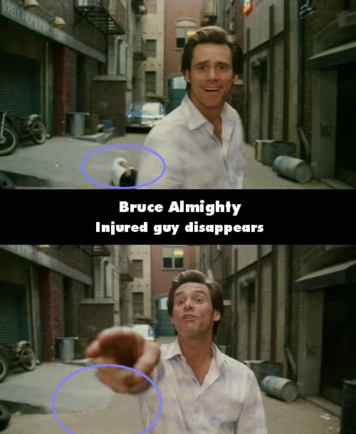 Warrior Quote Wallpapers Funny Movie Mistakes Bruce Almighty