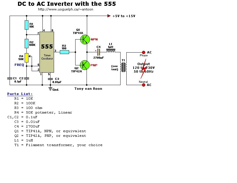 Aplikasi Electric Engineering Inverter Sederhana untuk