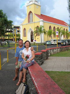 Catedral Notre Dame, Papeete, Tahití, Polinesia Francesa, vuelta al mundo, round the world, La vuelta al mundo de Asun y Ricardo
