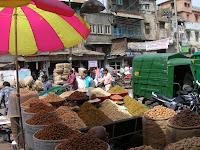 mercado de especias, nueva delhi, india, vuelta al mundo, round the world, información viajes, consejos, fotos, guía, diario, excursiones