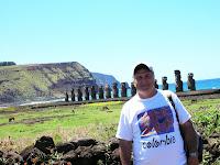 Ahu tongariki, isla de pascua, easter island, chile,vuelta al mundo, round the world, información viajes, consejos, fotos, guía, diario, excursiones