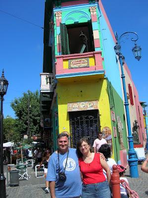 Calle El Caminito, Buenos Aires, Argentina, vuelta al mundo, round the world, La vuelta al mundo de Asun y Ricardo