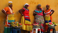 palanganeras de cartagena de indias, colombia, caribe, Cartagena de Indias, Colombia, Caribbean, vuelta al mundo, round the world