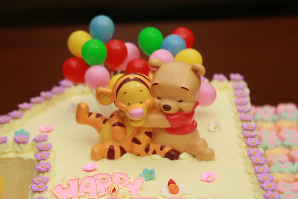 Haven Bakery Baby Khrystalline 1st Birthday Cake Part 1
