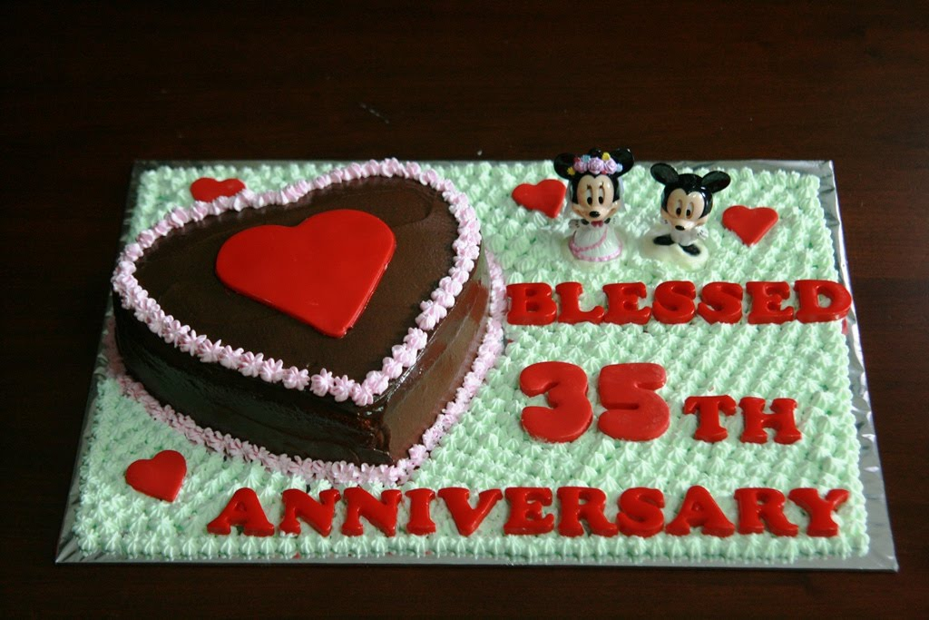 Haven Bakery 35th Wedding Anniversary