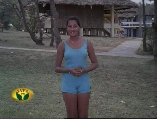 Sumalatha Rare Swimsuit Photos - Saree Sexy Pictures