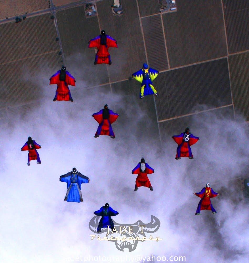 """Team ILL Vision: WestCoast Wingsuits """"Flock Lodi"""""""