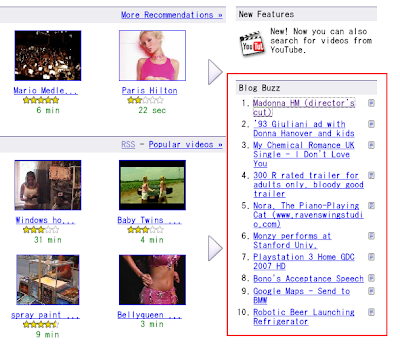 Google Video - Blog Buzz
