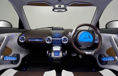 "Latest technologies: Mitsubishi i-MEV won the ""Most ..."