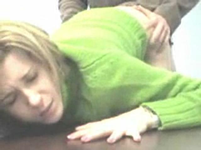 Green Sweater Butt 43