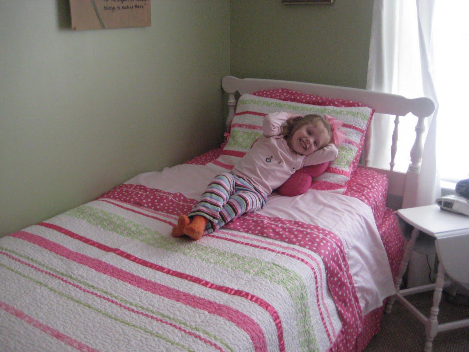 Barker Family Blog Big Girl Bedding