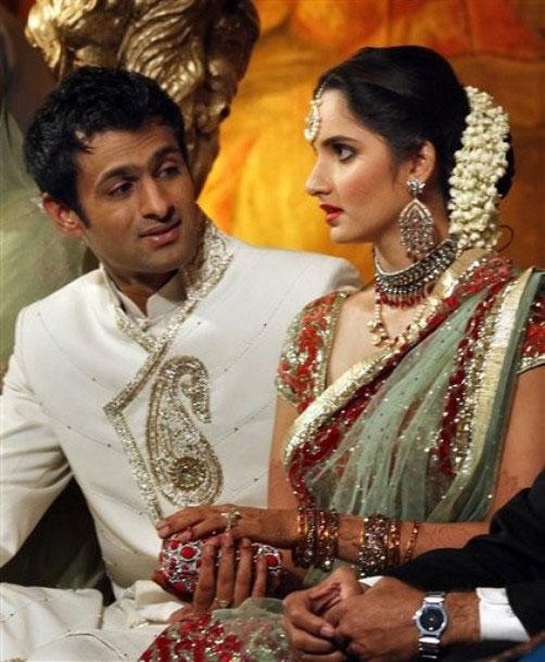 Wedding Photos Of Sania Mirza Shoaib Malik