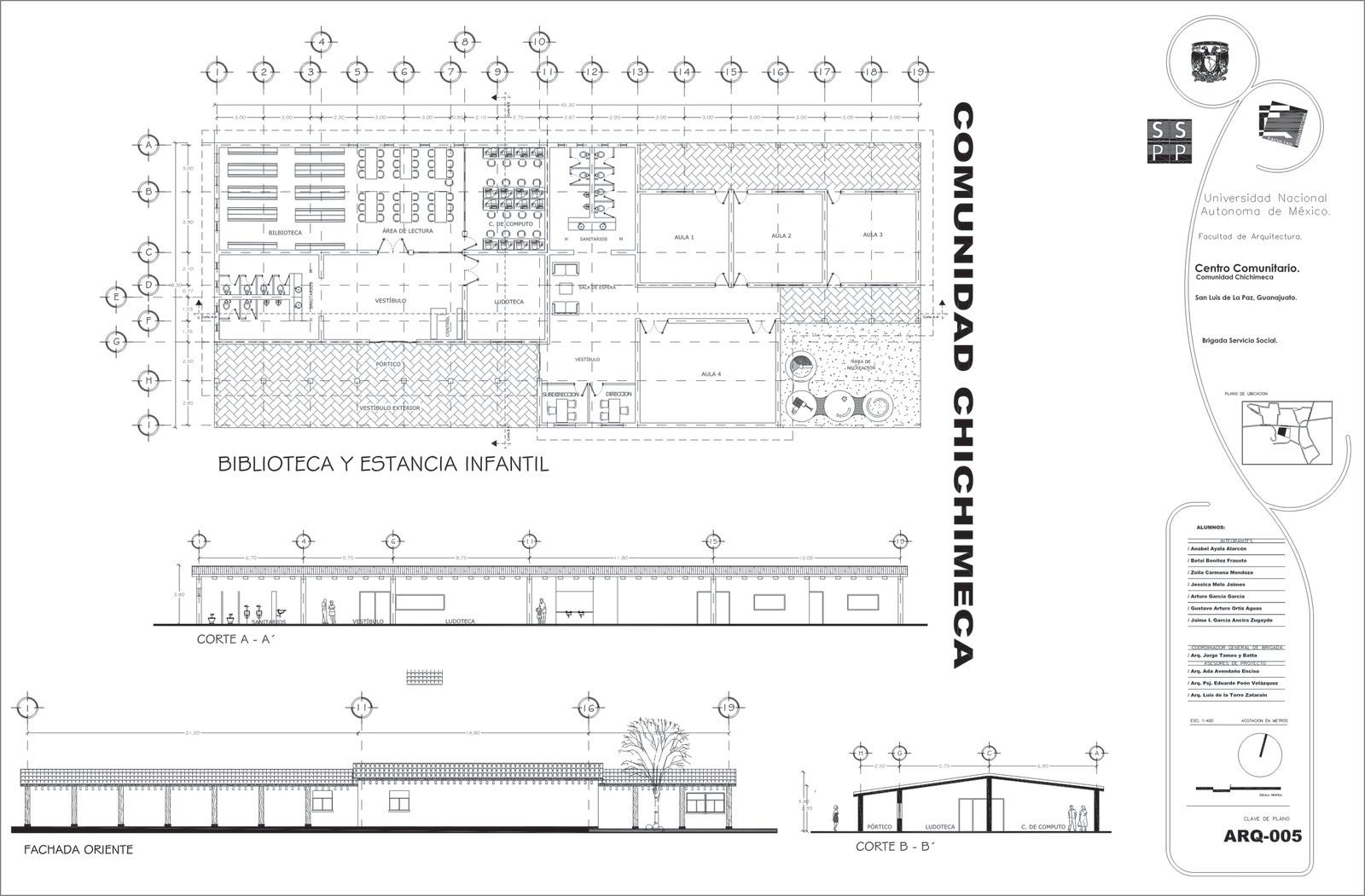 Entrega de proyecto for Programa arquitectonico biblioteca