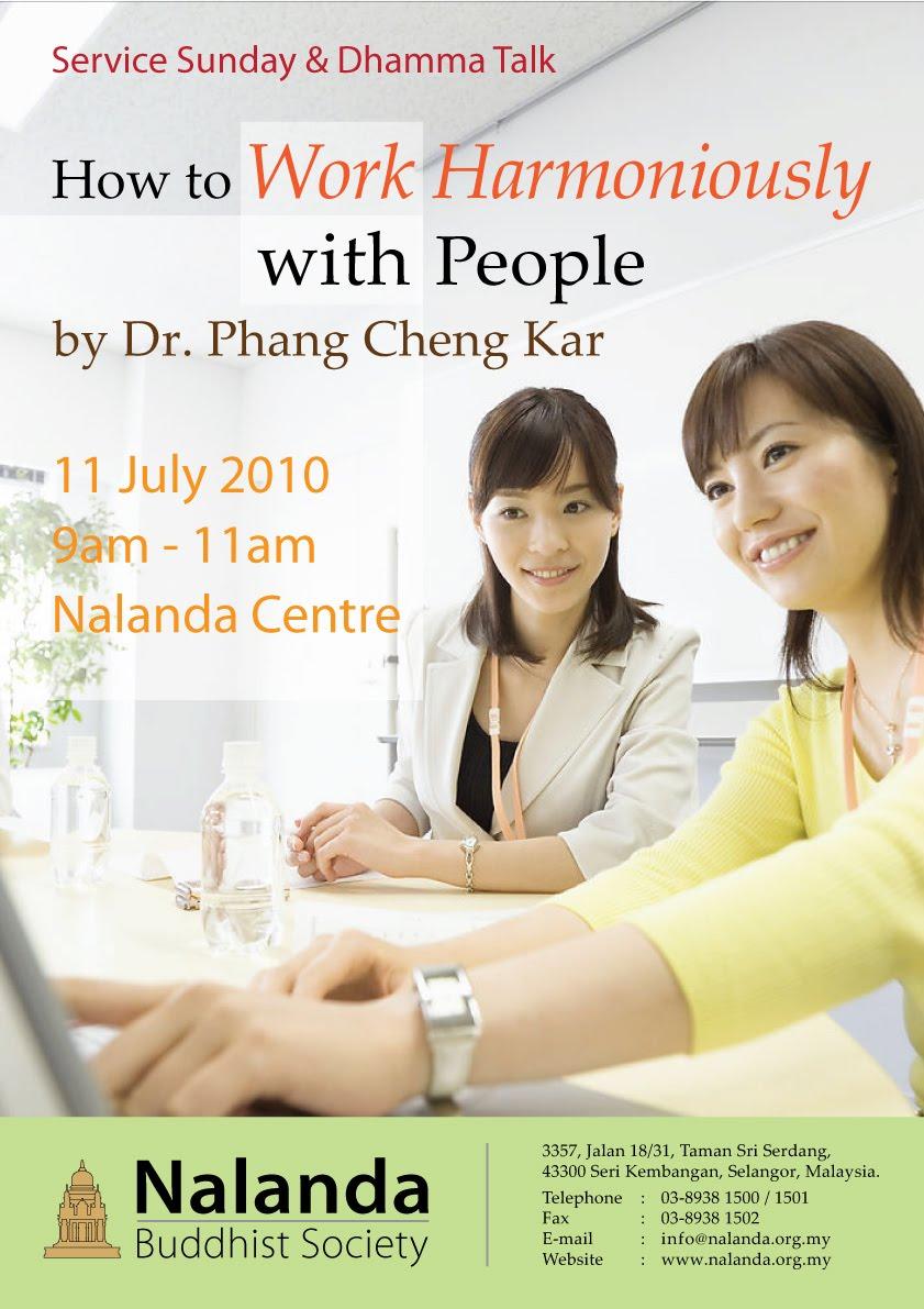 Nalanda Buddhist Society: 11 July Service Sunday - Puja ...