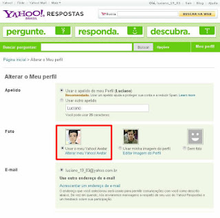 como mudar o avatar no perfil do yahoo respostas guia do iniciante