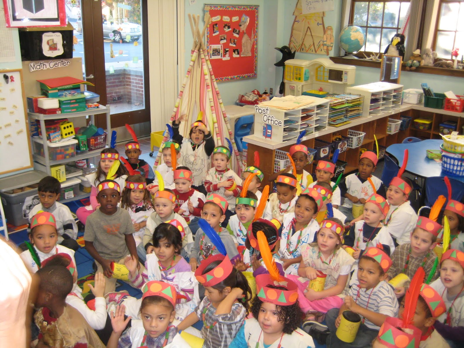 Macdonough School Kindergarten Students Dress As Native