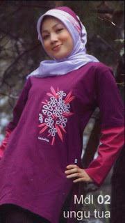 Jilban Ungu Manies- Muslim Fashion