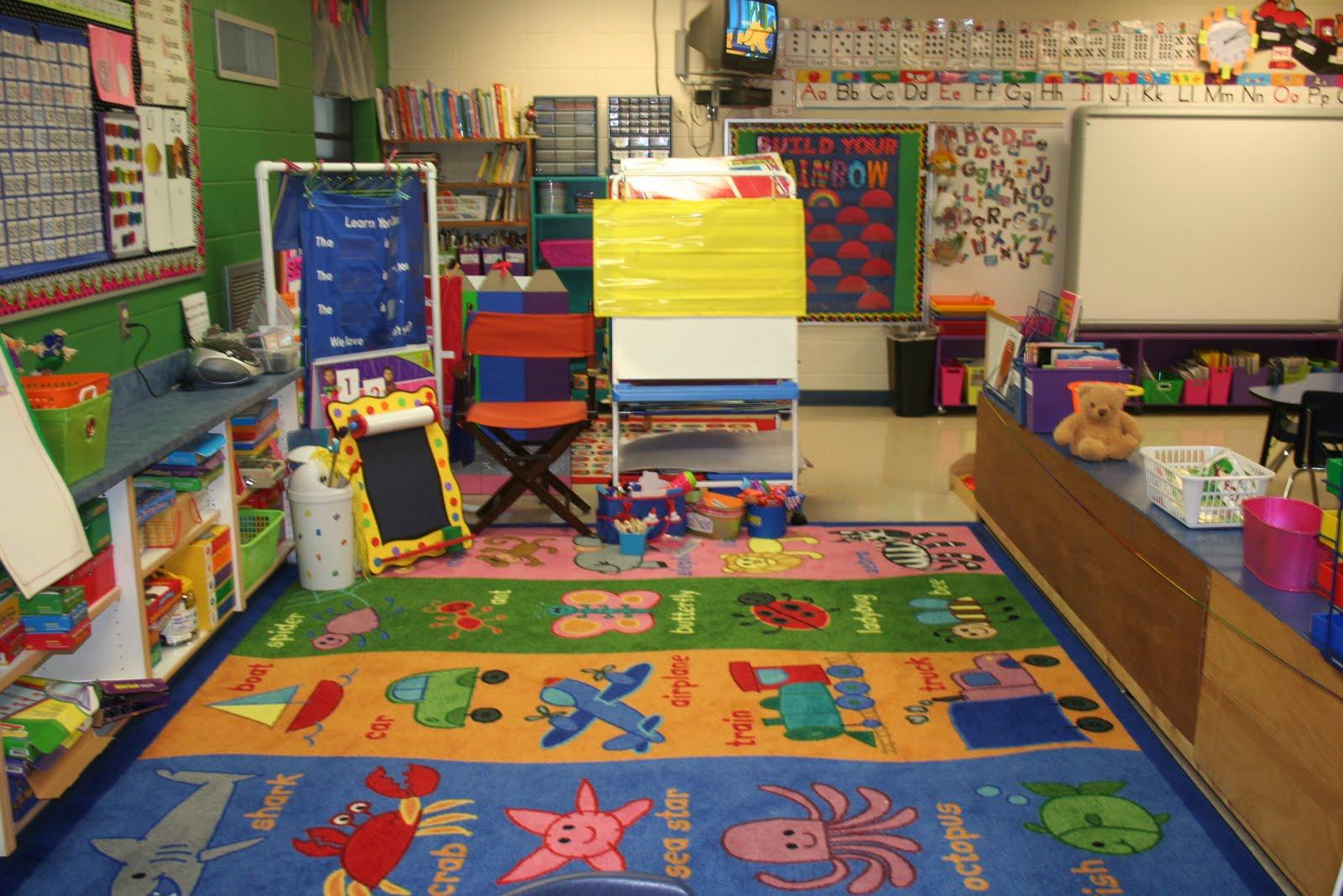 Kindergarten Classroom: Mrs. Lee's Kindergarten: My Classroom