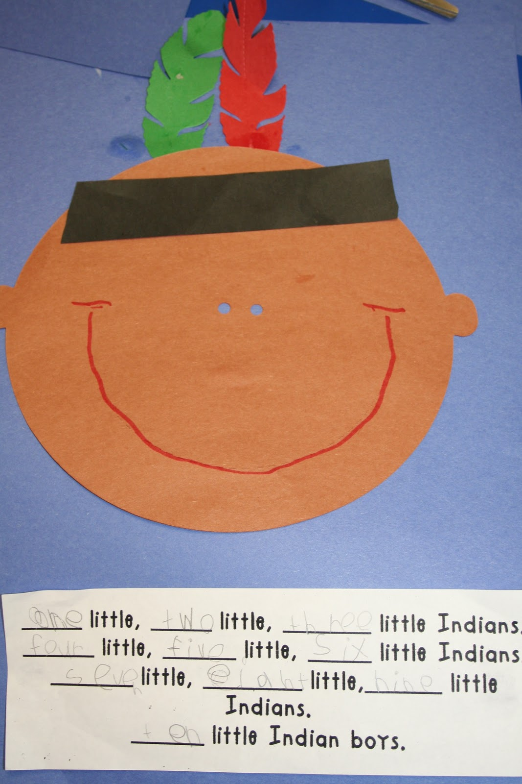Mrs Lee S Kindergarten Indians Pilgrims And Turkeys