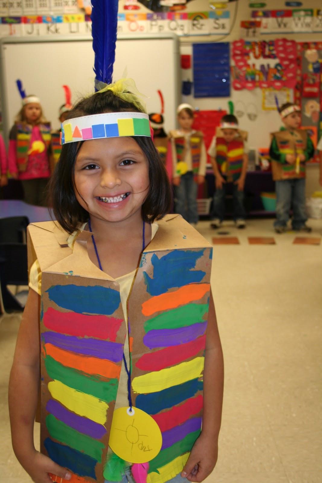 Mrs Lee S Kindergarten Native American Pow Wow And Program