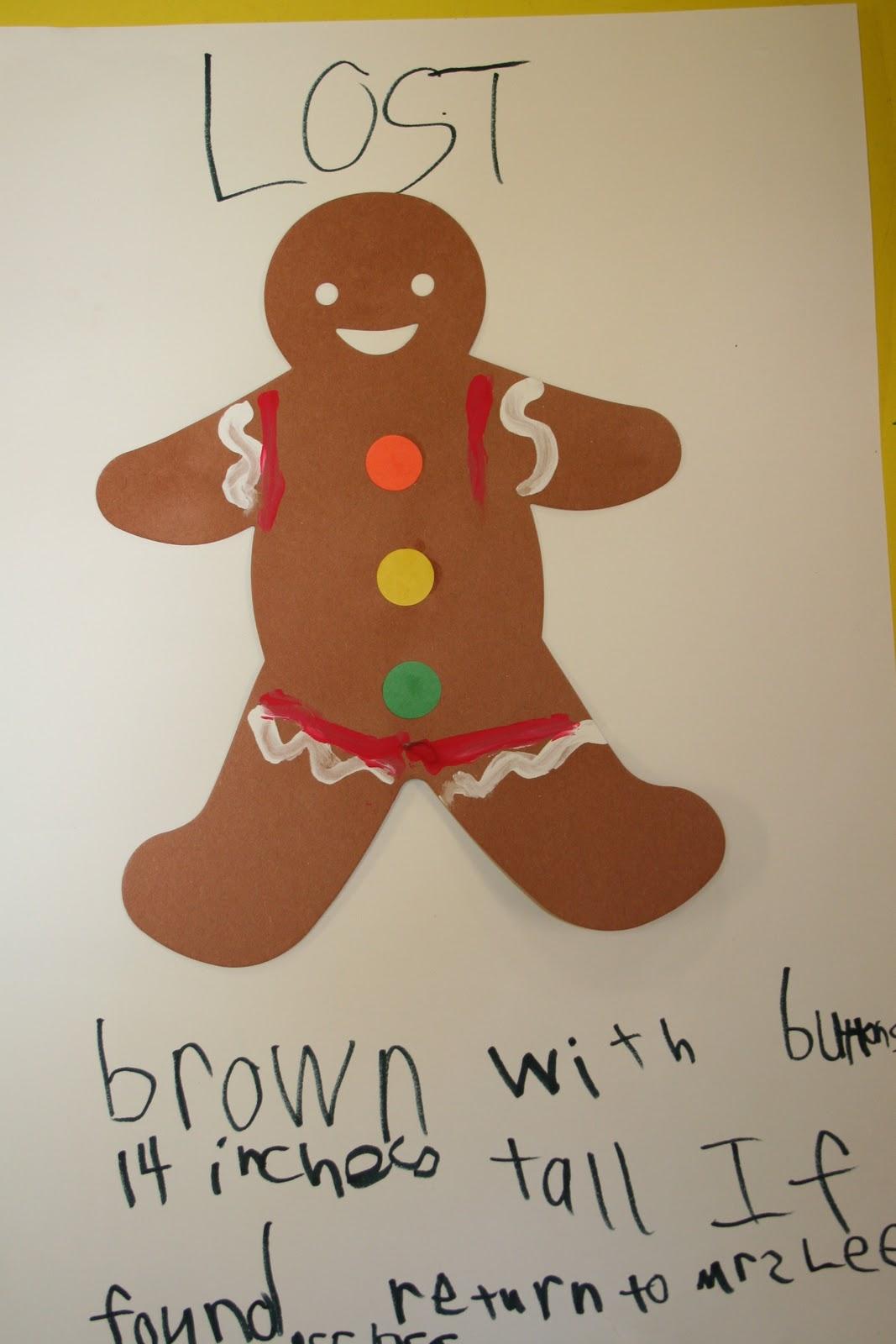 Mrs Lee S Kindergarten We Found Our Gingerbread Man