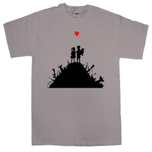 Camisetas Bansky - Serie 3