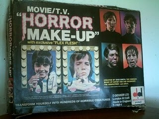monster scar molds kit Dick makeup smith