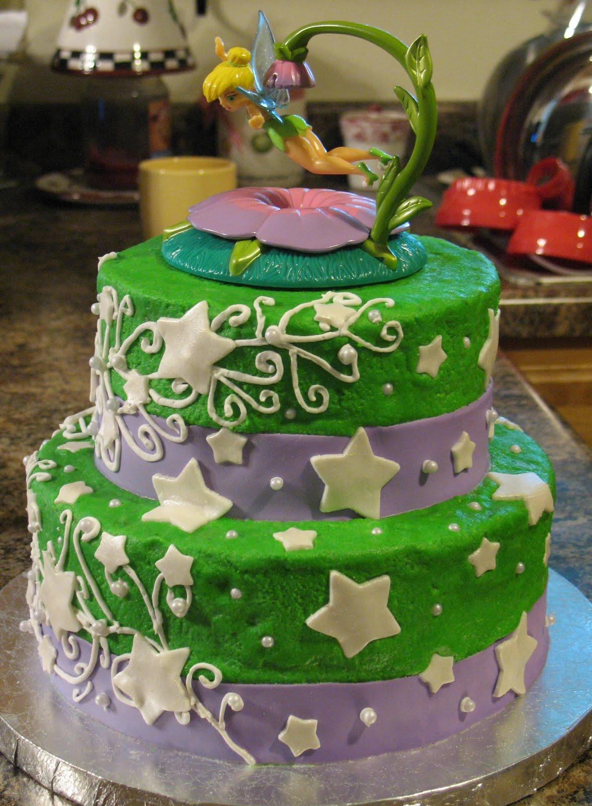 J S Cakes Tinkerbell Cake