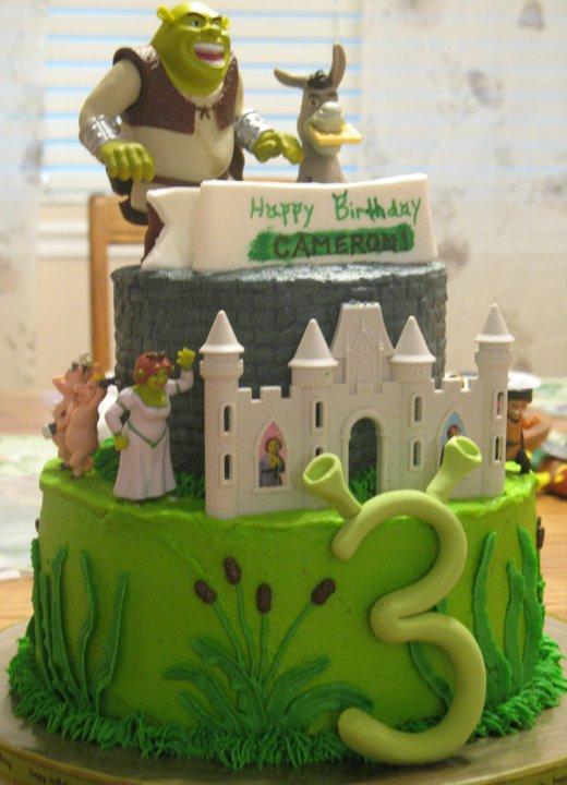 J S Cakes Shrek Cake