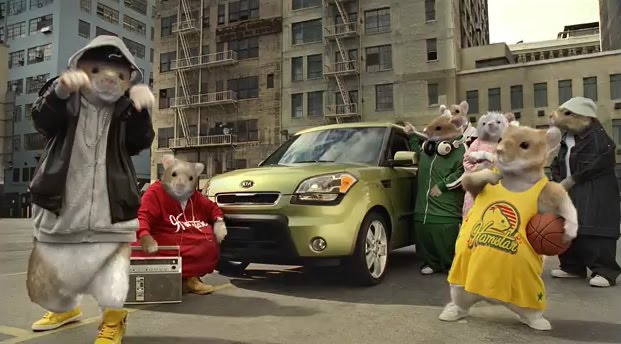 Kia Soul Commercial >> m. molly backes: WTF, Hamsters?