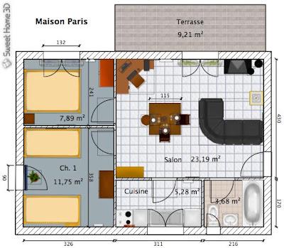 El blog de francis jeny sweet home 3d pack for Software planimetria casa