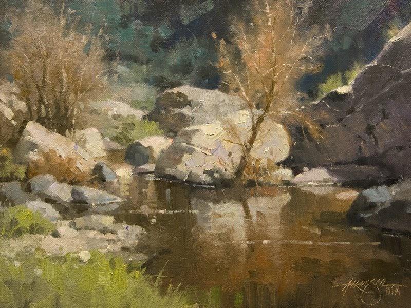 Steve Atkinson Painting Blog New Landscape