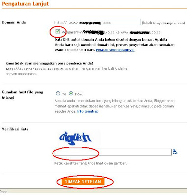setting blogger blogspot ke co.cc