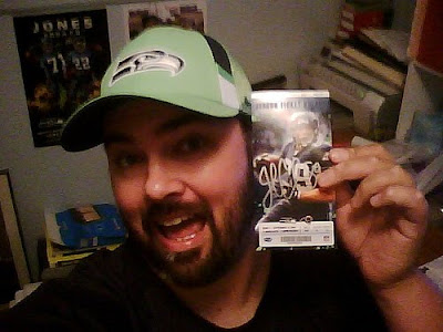 3cca3118 Just five days after I met John Carlson's parents at the Seahawks/Rams  game, I got this in the mail: MY game ticket, signed by Touchdown Jeebus  himself!