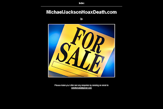 Michael Jackson Hoax Death, domaine, à vendre, for sale