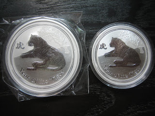 Numismatic Collection 2010 Year Of Tiger Second Series