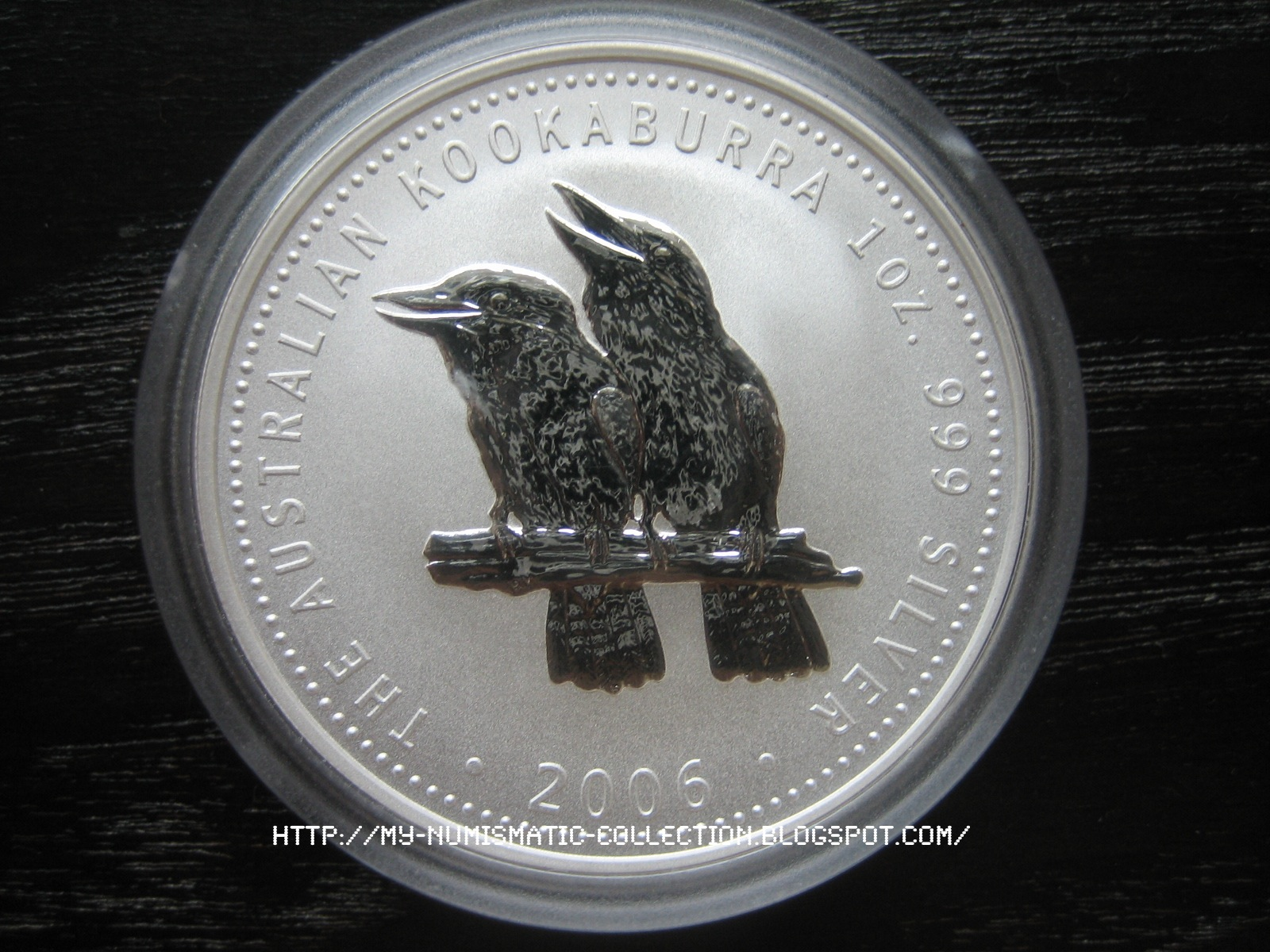 Numismatic Collection 2006 Australian Silver Kookaburra