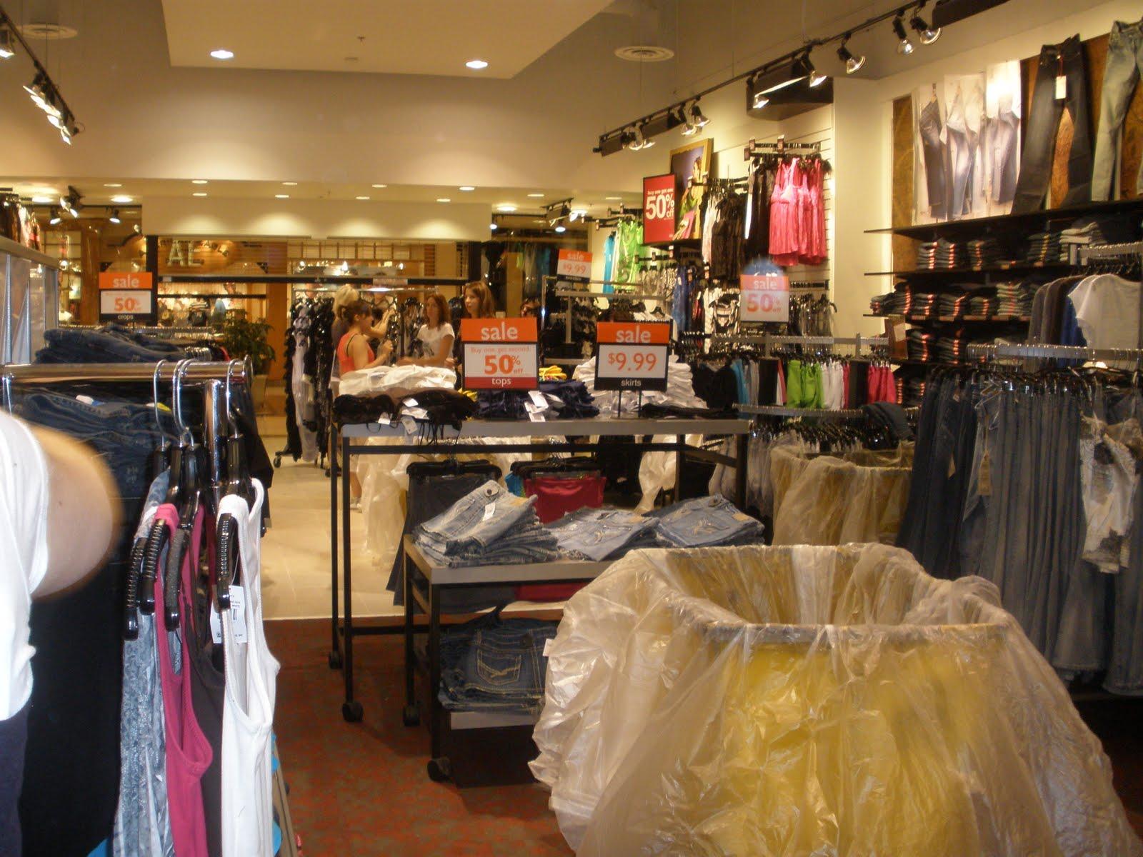 Vanity clothing store