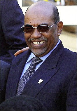Omar el-Bashir - President of Sudan and mass murderer