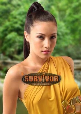 SOLENN HEUSSAFF of SURVIVOR PHILIPPINES Celebrity Edition