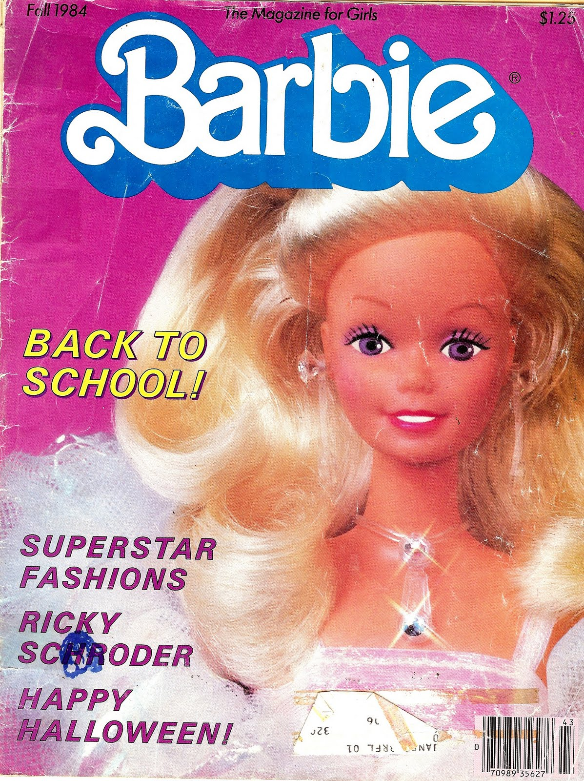 Blue Eyed Dragonfly: My Vintage Barbie Magazines