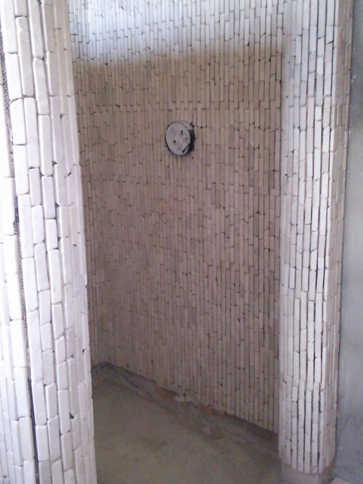 Basiclabel Loft Building The Dream In Ireland Brick Bone Mosaic Shower Part 1