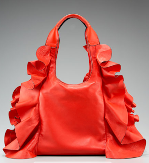 Ruffled Valentino Hobo
