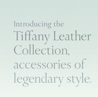 Newsflash: Tiffany & Co Launches Handbag Collection for Men and Women