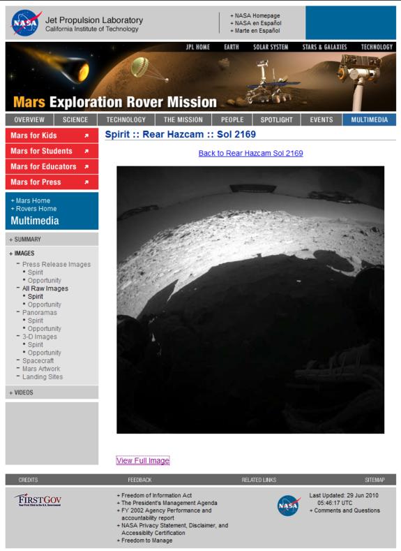 mars rover ultimo mensaje - photo #33