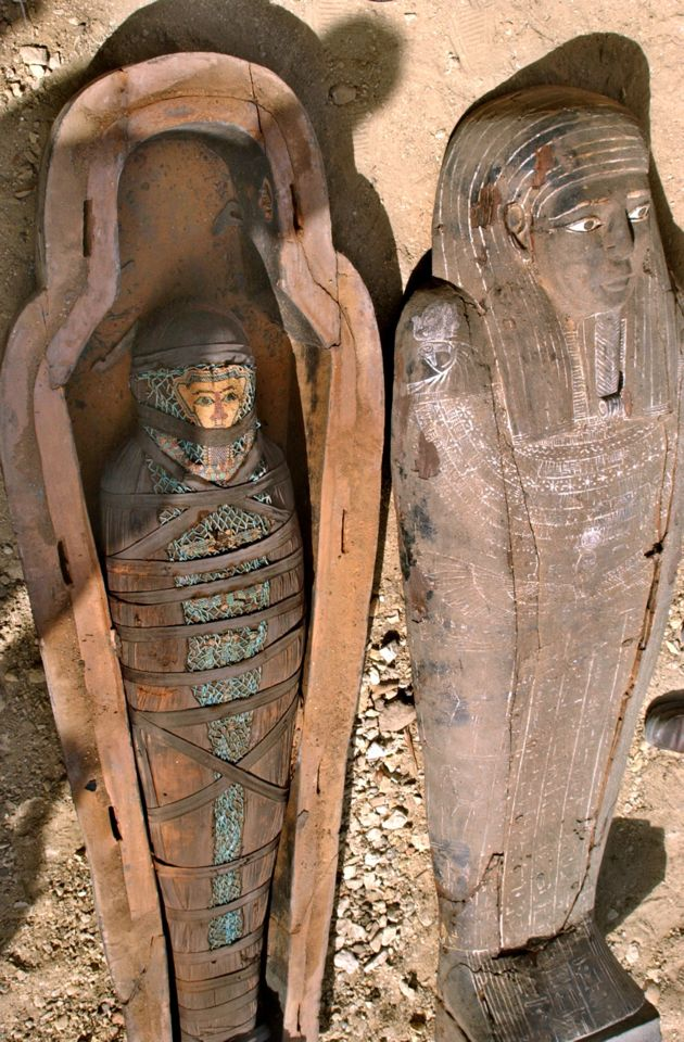 egypt mummy coffin - photo #35