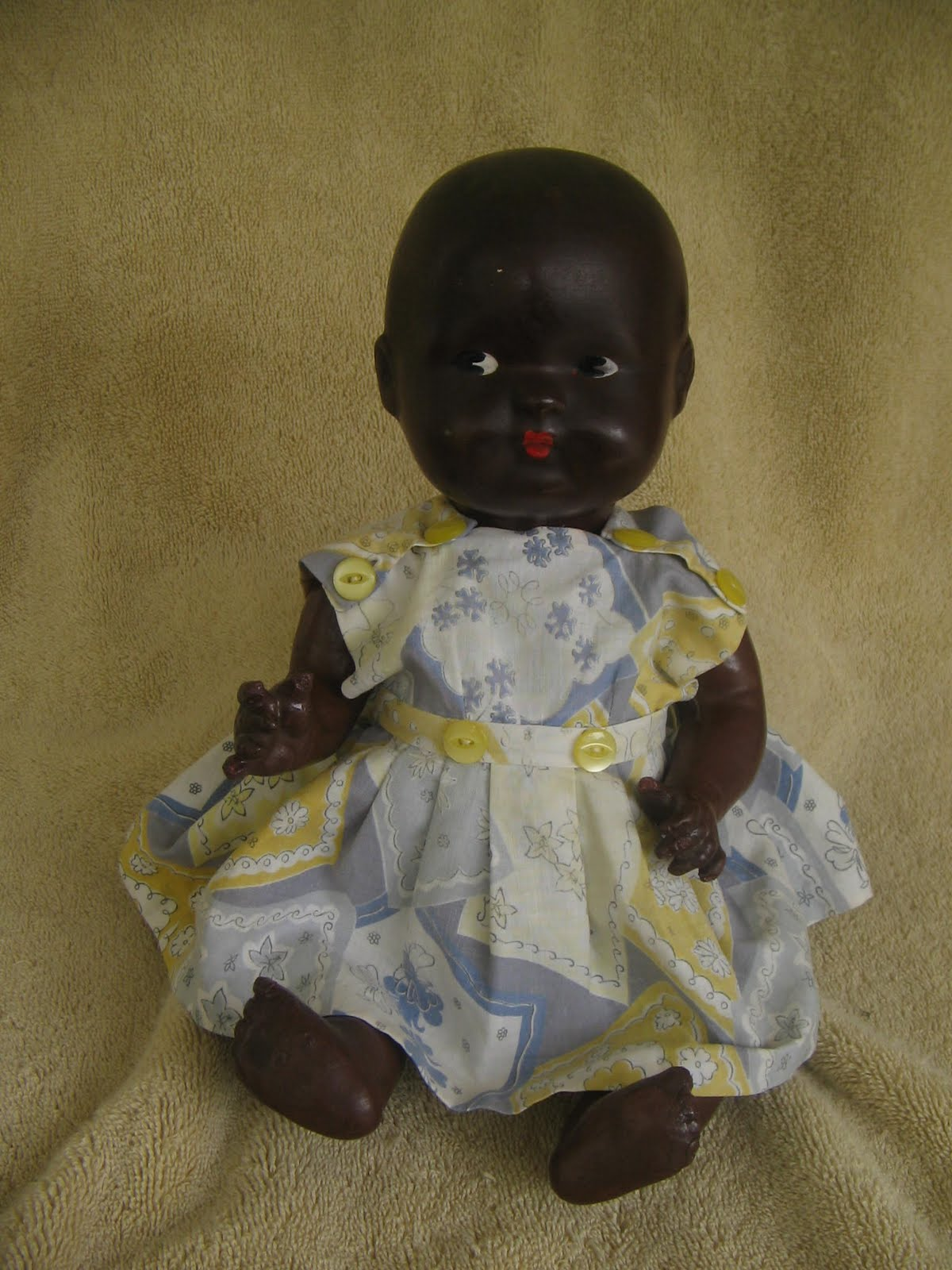 Antique Amp Vintage Dolls Black Bisque Papier Mache