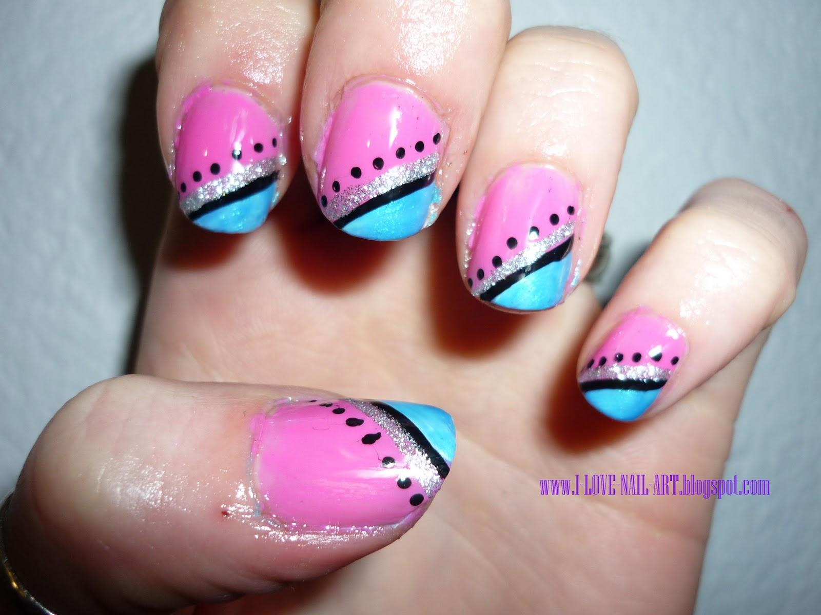 Nail Designs For Short Acrylic Nails@^*
