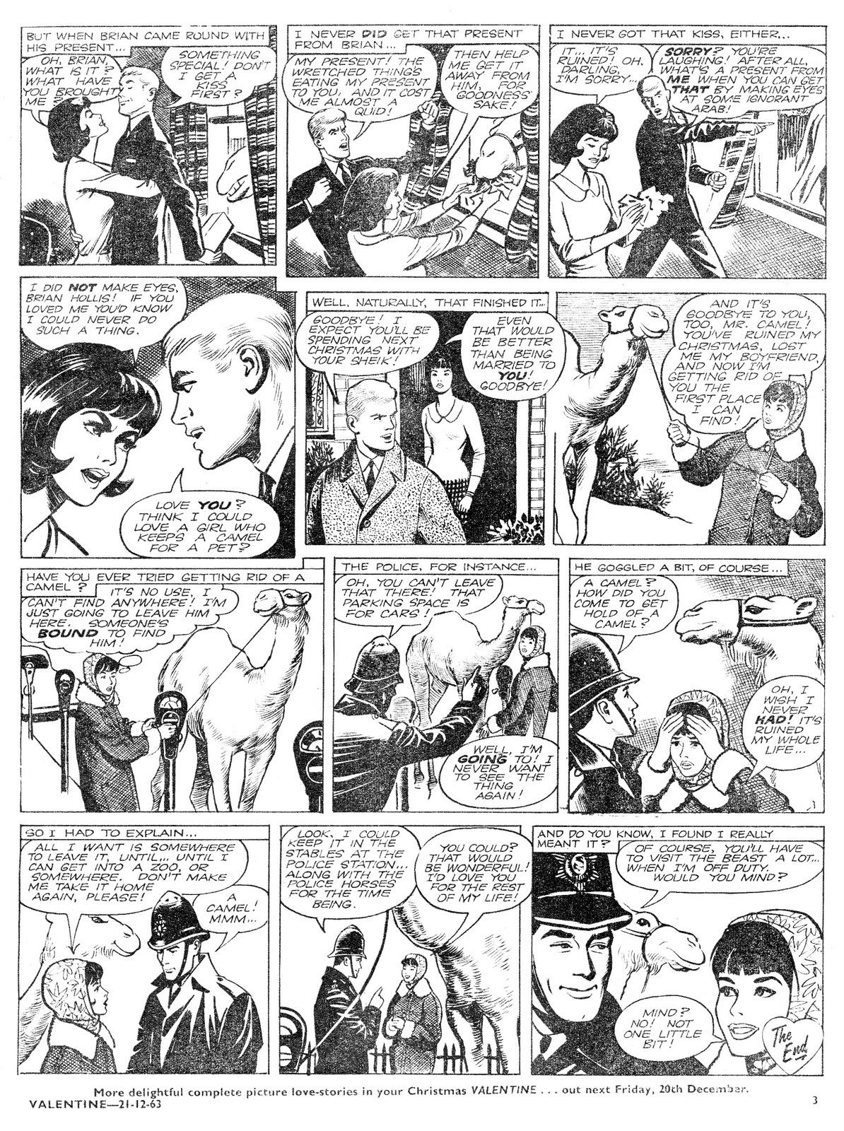 Out Of This World: British Girls\' Romance Comics: Valentine 21st ...